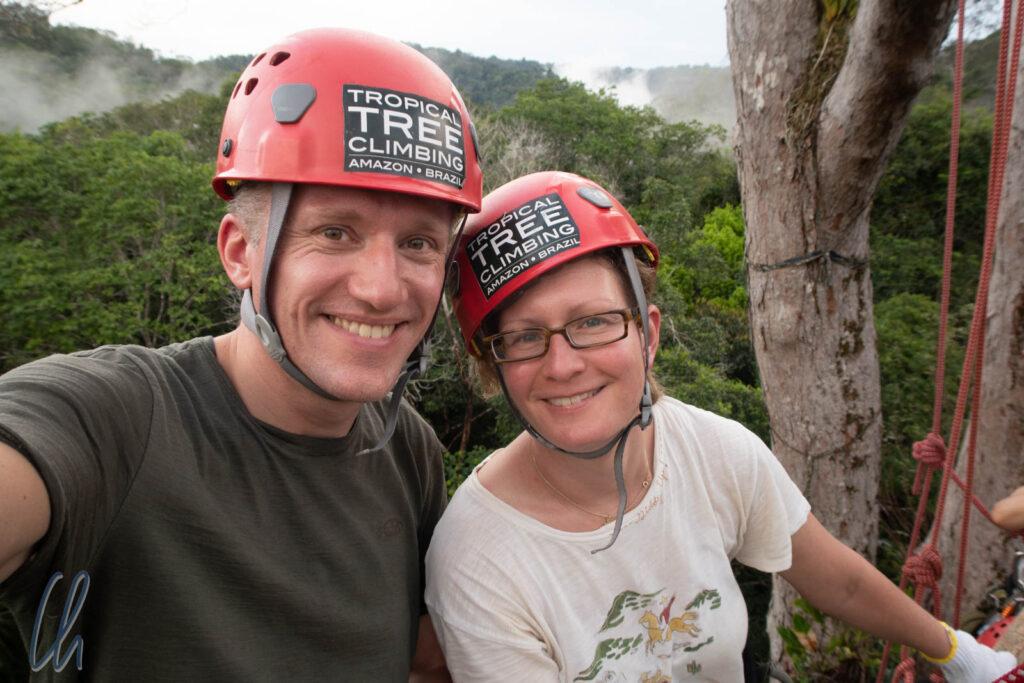 Beim Tropical Tree Climbing ging es nicht nur um das Erklettern von Urwaldriesen, sondern auch um Tierschutz und nachhaltige Landwirtschaft im Amazonas.