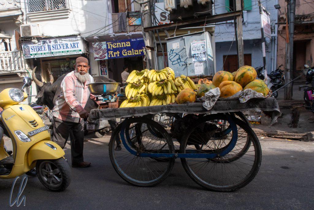 Straßenszene in Udaipur